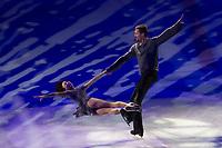 Yuko Kavaguti and Alexander Smirnov perform during the Kings on Ice skating show in Budapest, Hungary on April 29, 2018. ATTILA VOLGYI
