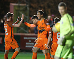 17.04.18 Brechin City v Dundee utd:<br /> Bilel Mohsni celebrates his goal