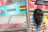 Ghana's Coach Sellas Tetteh during their FIFA U-20 World Cup Turkey 2013 Group Stage Group A soccer match Ghana betwen USA at the Kadir Has stadium in Kayseri on June 27, 2013. Photo by Aykut AKICI/isiphotos.com