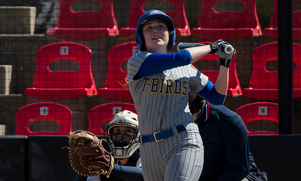 SURREY,BC:APRIL 15, 2017 -- UBC Thunderbirds Eastern Oregon Mountaineers during NAIA softball action at Softball City in Surrey, BC, April, 15, 2017. (Rich Lam/UBC Athletics Photo) <br /> <br /> ***MANDATORY CREDIT***