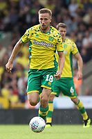 Marco Stiepermann of Norwich City runs with the ball during Norwich City vs Middlesbrough, Sky Bet EFL Championship Football at Carrow Road on 15th September 2018