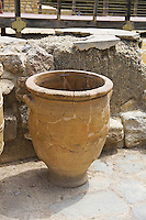 Ancient vase in Knossos Palace