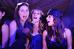 Bat Mitzvah party with blue light, Tappan Hill Mansion