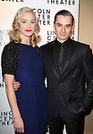 Yvonne Strahovski & Seth Numrich attending the Broadway Opening Night After Party for The Lincoln Center Theater Production of 'Golden Boy' at the Millennium Broadway in New York City on December 6, 2012