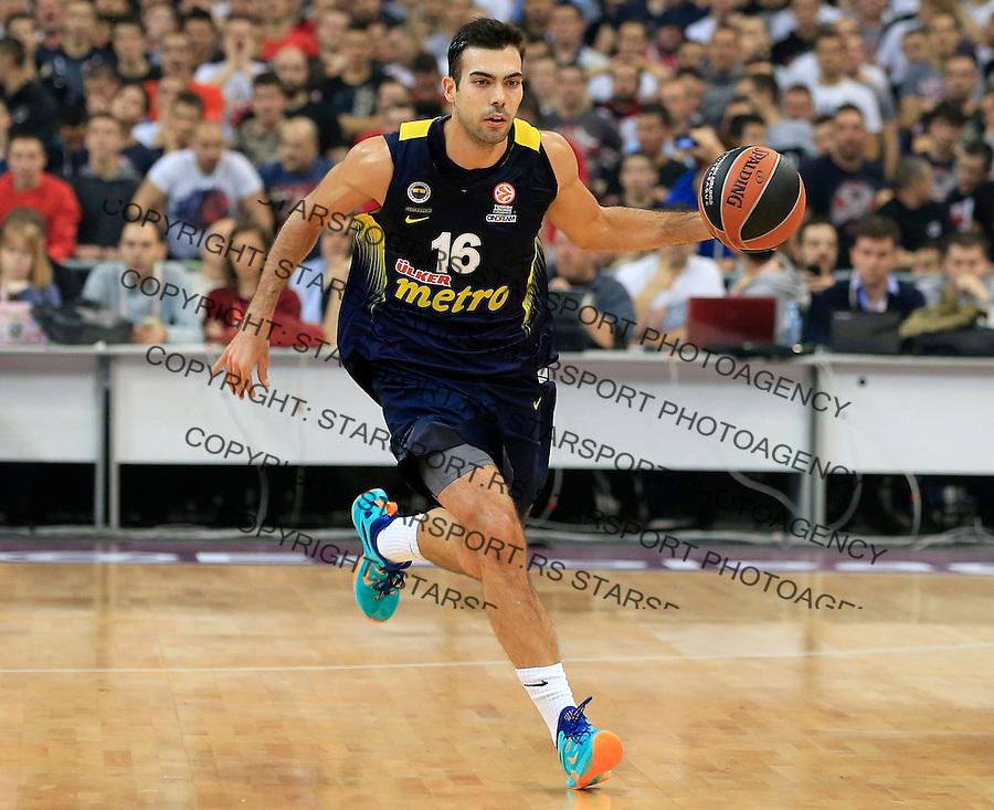 Kosarka Euroleague season 2015-2016<br /> Euroleague <br /> Crvena Zvezda v Fenebahce Istanbul<br /> Kostas Sloukas<br /> Beograd, 06.11.2015.<br /> foto: Srdjan Stevanovic/Starsportphoto &copy;