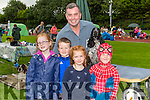 Paudie O'Shea Caherciveen lets some children [pet his dog at the Tralee & District Canine Dog Show at An Riocht AC Gropunds on Saturday morning Aoife Morrison,patrick Leen,Orla Morrison and Dara Leen.