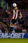 Jake Wright of Sheffield Utd during the Carabao Cup, second round match at Bramall Lane, Sheffield. Picture date 22nd August 2017. Picture credit should read: Simon Bellis/Sportimage