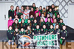 The children taking part in  the Rathmore Ravens Lipsync which will be held on 11th May in the Killarney Heights Hotel at the launch in the Hotel on Monday night
