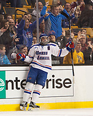 Joe Gambardella (UML - 5) The University of Massachusetts-Lowell River Hawks defeated the Boston College Eagles 4-3 to win the 2017 Hockey East tournament at TD Garden on Saturday, March 18, 2017, in Boston, Massachusetts.