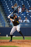 Bradenton Marauders first baseman Will Craig (22) at bat during a game against the Tampa Yankees on April 15, 2017 at George M. Steinbrenner Field in Tampa, Florida.  Tampa defeated Bradenton 3-2.  (Mike Janes/Four Seam Images)