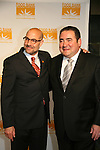 Stanley Tucci & Emeril Lagasse at the Food Bank for New York City as they present the 8th Annual Can-Do Awards Dinner 2010 on April 20, 2010 at Pier Sixty at Chelsea Piers, New York City, New York. (Photo by Sue Coflin/Max Photos)