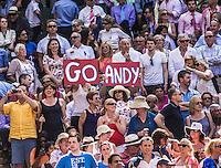 Ambience<br /> <br /> Tennis - The Championships Wimbledon  - Grand Slam -  All England Lawn Tennis Club  2013 -  Wimbledon - London - United Kingdom - Sunday 7th July 2013. <br /> &copy; AMN Images, 8 Cedar Court, Somerset Road, London, SW19 5HU<br /> Tel - +44 7843383012<br /> mfrey@advantagemedianet.com<br /> www.amnimages.photoshelter.com<br /> www.advantagemedianet.com<br /> www.tennishead.net
