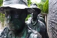 Bronze Scupture, Depression Bread Line, George Segal, Grounds for Sculpture, Hamilton, New Jersey