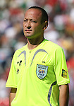 02 July 2007: Assistant Referee Bahadyr Kochkorov (KGZ). At the National Soccer Stadium, also known as BMO Field, in Toronto, Ontario, Canada. Mexico's Under-20 Men's National Team defeated Gambia's Under-20 Men's National Team 3-0 in a Group C opening round match during the FIFA U-20 World Cup Canada 2007 tournament.