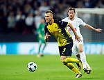 Dortmund's Andriy Yarmolenko in action during the champions league match at Wembley Stadium, London. Picture date 13th September 2017. Picture credit should read: David Klein/Sportimage