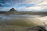 Bay Le Mont St Michel, France
