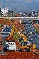 Obras na Rodovia Anhanguera, SP330. Sumaré. São Paulo. 2008. Foto de Juca Martins.