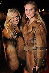 Lauren Cullen and Julia Floyd on the red carpet at Fashion Houston 5 at the Wortham Theater Friday Nov. 21, 2014.(Dave Rossman photo)