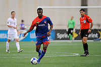 Mones Chery (14) of Haiti (HAI). The United States and Haiti played to a 2-2 tie during a CONCACAF Gold Cup Group B group stage match at Gillette Stadium in Foxborough, MA, on July 11, 2009. .