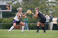 20 June 2006: Megan Burker during Stanford's 17-9 loss to Northwestern in the first round of the 2006 NCAA Lacrosse Championships in Evanston, IL. Stanford made it to the NCAA's for the first time in school history.