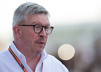 Ross Brawn during The Formula 1 2018 Rolex British Grand Prix at Silverstone Circuit, Northampton, England on 8 July 2018. Photo by Vince  Mignott.