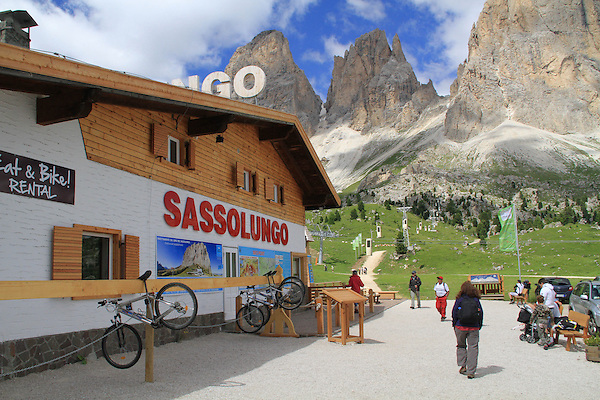 Sassolungo and lift, Dolomites, northern Italy, Europe. .  John offers private photo tours in Denver, Boulder and throughout Colorado, USA.  Year-round. .  John offers private photo tours in Denver, Boulder and throughout Colorado. Year-round.