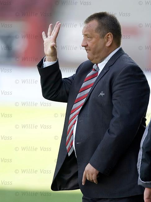 Jimmy Calderwood, Aberdeen.stock season 2004-2005.pic willie vass