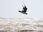 Winter Kiteboarding at Ainsdale Beach