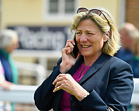 Trainer Eve Johnston Houghton during Afternoon Racing at Salisbury Racecourse on 16th May 2019