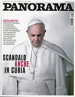 Pope Francis Panorama Italian  Magazine. 18 July, 2014. <br /> Photograph by Stefano Spaziani.