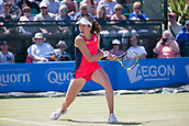 June 15th 2017, Nottingham, England; WTA Aegon Nottingham Open Tennis Tournament day 6;  Johanna Konta of Great Britain defeated Yanina Wickmayer of Belgium in tow sets in round two