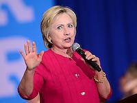 Hillary Clinton campaigns in Philadelphia