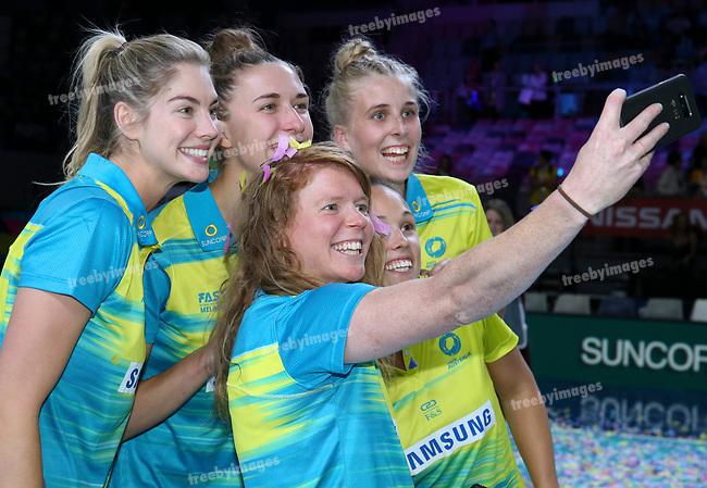 29/10/17 Fast5 2017<br /> Fast 5 Netball World Series<br /> Hisense Arena Melbourne<br /> Grand Final Jamaica v England<br /> <br /> <br /> <br /> <br /> <br /> <br /> Photo: Grant Treeby