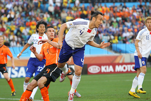 Marcus Tulio Tanaka (JPN), .JUNE 19, 2010 - Football : .2010 FIFA World Cup South Africa .Group Match -Group E- .between Netherlands 1-0 Japan .at Durban Stadium, Durban, South Africa. .