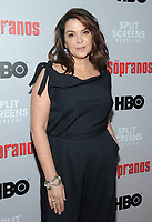NEW YORK, NEW YORK - JANUARY 09: Annabella Sciorra    attends the 'The Sopranos' 20th Anniversary Panel Discussion at SVA Theater on January 09, 2019 in New York City. <br /> CAP/MPI/JP<br /> ©JP/MPI/Capital Pictures
