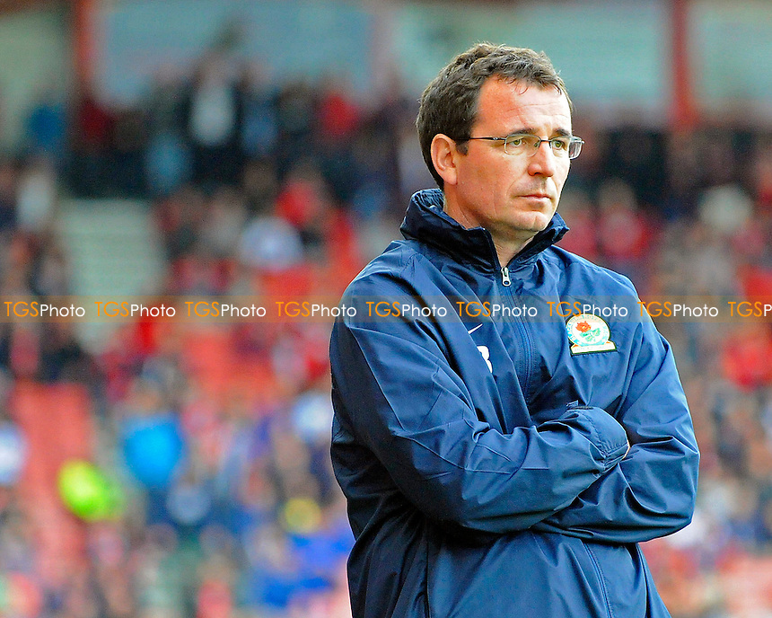 Blackburn Rovers Manager Gary Bowyer - AFC Bournemouth vs Blackburn Rovers - Sky Bet Championship Football at the Goldsands Stadium, Bournemouth, Dorset - 28/09/13 - MANDATORY CREDIT: Denis Murphy/TGSPHOTO - Self billing applies where appropriate - 0845 094 6026 - contact@tgsphoto.co.uk - NO UNPAID USE