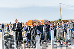 The coffins of brothers William and Daniel Mc Carthy, originally from Glens, arriving at St. Brendan's Cemetery, Dingle, on Sunday afternoon.