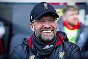 17th March 2019, Craven Cottage, London, England; EPL Premier League football, Fulham versus Liverpool; Liverpool Manager Jürgen Klopp
