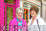 Budget Busters Listowel - Mary Mulvihill and Margaret Kennelly from Ballylongford and Lisselton.  Love to shop in Dress to Impress, works local so shops local.  Easy to get around