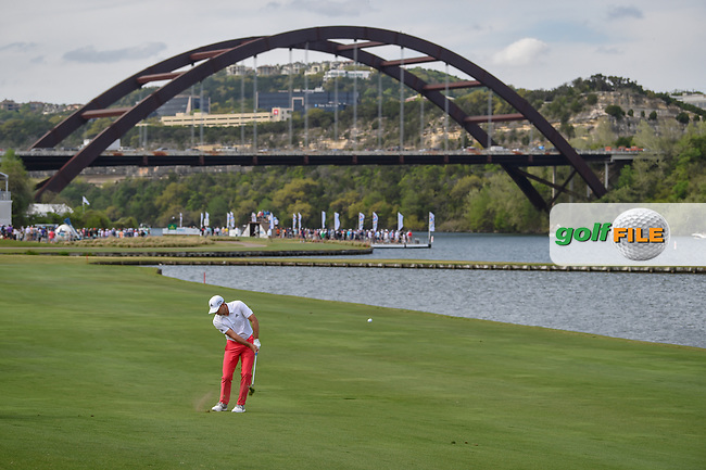Sergio Garcia (ESP) hits his approach shot on 13 during day 2 of the WGC Dell Match Play, at the Austin Country Club, Austin, Texas, USA. 3/28/2019.<br /> Picture: Golffile | Ken Murray<br /> <br /> <br /> All photo usage must carry mandatory copyright credit (© Golffile | Ken Murray)