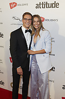 www.acepixs.com<br /> <br /> October 12 2017, London<br /> <br /> Oliver Proudlock and Emma Connolly arriving at the Virgin Holidays Attitude Awards 2017 at the Roundhouse on October 12 2017 in London.<br /> <br /> By Line: Famous/ACE Pictures<br /> <br /> <br /> ACE Pictures Inc<br /> Tel: 6467670430<br /> Email: info@acepixs.com<br /> www.acepixs.com