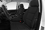 Front seat view of 2016 Chevrolet Silverado-3500HD LT-Crew-Cab-Long-Box-DRW 4 Door Pick-up Front Seat  car photos