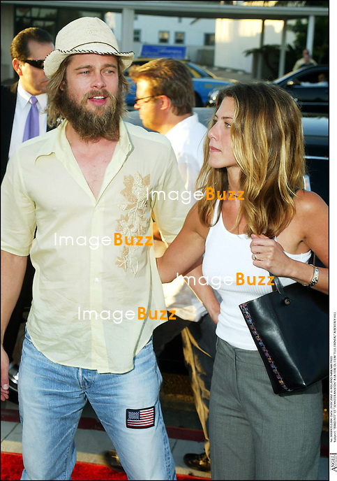 """BRAD PITT"" ET ""JENNIFER ANISTON"" A LA 1ERE DU FILM ""FULL FRONTAL"" A BEVERLY HILL ""PLAN AMERICAIN"""