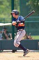 Brandon Drury of the Gulf Coast League Braves during the game against the Gulf Coast League Phillies July 10 2010 at the Disney Wide World of Sports in Orlando, Florida.  Photo By Scott Jontes/Four Seam Images