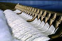Vertedouro da usina hidrelétrica de Tucuruí, barragem no rio Tocantins controlada pela Eletronorte, que fornece energia para os estados do Pará, Maranhão e Tocantins.<br />Tucuruí - Pará - Brasil<br />26/04/2002<br />©Foto: Paulo Santos/Interfoto<br />Cromo Cor 135 Tucuruí  P 13 B2