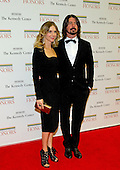 Foo Fighters guitarist Dave Grohl and his wife Jordyn arrive for the formal Artist's Dinner honoring the recipients of the 2012 Kennedy Center Honors hosted by United States Secretary of State Hillary Rodham Clinton at the U.S. Department of State in Washington, D.C. on Saturday, December 1, 2012. The 2012 honorees are Buddy Guy, actor Dustin Hoffman, late-night host David Letterman, dancer Natalia Makarova, and the British rock band Led Zeppelin (Robert Plant, Jimmy Page, and John Paul Jones)..Credit: Ron Sachs / CNP
