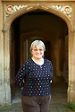 Julia McKenna Fantasy Novel  writer at Oxford Literary Festival  at Corpus Christie College, Oxford  2014 CREDIT Geraint Lewis