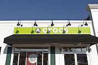 A Crocs store is pictured at Lee Premium Outlets in Lee (MA), Tuesday October 1, 2013.