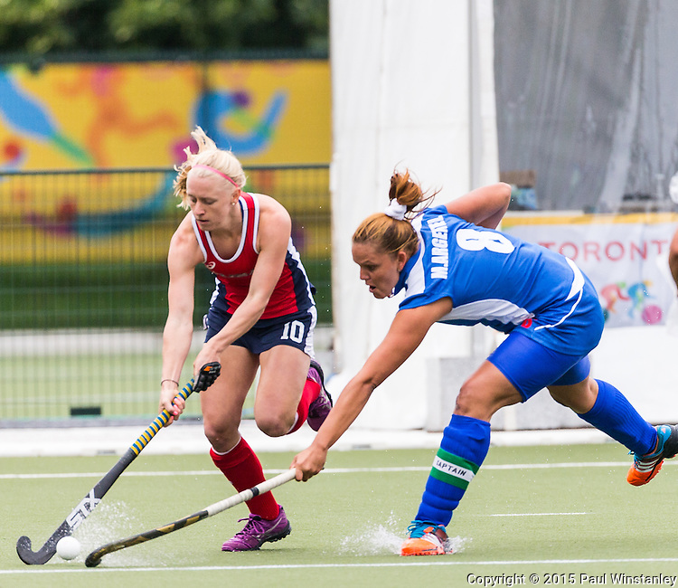 USA Women vs Cuba Women at Pan Am Games 2015 in Toronto, Ontario, Canada