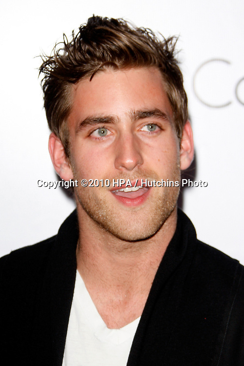 Oliver Jackson.arriving at the Calvin Klein collection and LOS ANGELES NOMADIC DIVISION Present a Celebration of L.A. ARTS MONTH.Calvin Klein Store.Los Angeles, CA.January 28, 2010.©2010 HPA / Hutchins Photo....